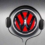สติ๊กเกอร์หูฟังสีขาว (ภาพแทน) ติดโลโก้รถ ( ขนาด 17.5x19 CM )