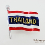 ของที่ระลึกไทย แม่เหล็กติดตู้เย็น ลวดลายและรูปทรงธงชาติไทย