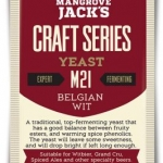 Mangrove Jack's Belgian Wit Yeast - M21