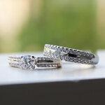 แหวนคู่ แหวนหมั้น แหวนแต่งงาน TSR171,173