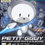:HG PB 1/144 Petitgguy Graham Aker White & Placard 500yen