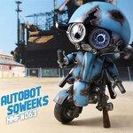 Hybrid Metal Figuration #063 Autobot Sqweeks (ของแท้)