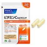 30 วัน-Fancl Vitamin C & Vitamin P วิตามินCสกัดมาจากผลAcerola ผสมผสานวิตามินP ช่วยทำให้ผิวขาว ป้องกันแดด ทานตัวเดียวก็ได้ผิวขาวบำรุงผิวไปในตัวค่ะ