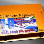เครื่องขยายสัญญาณโทรศัพท์มือถือ 2 in 1 Repeater 3G 850/2100 MHz
