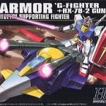 HGUC 1/144 50 G-Armor 2800y