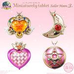 ตลับใส่ยาใส่ลูกอมเซเลอร์มูนส์ 4 ชิ้น Miniaturely Tablet Sailor Moon จากญี่ปุ่น จัดระเบียบวิตามิน ยา ลูกอม ให้เป็นสัดส่วน พกพกสะดวก เป็นระเบียบเรียบน้อยแฝงไปด้วยความน่ารักและสดใสค่ะ