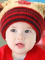หมวกอุ่นกันหนาว หลากสี สำหรับเด็ก 9เดือน ถึง 2ขวบ ใบใหญ่น่ารักค่ะ สีสันสดใส