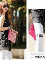 #กางเกงเลกกิ้งคนท้อง ขายาว มี สีขาว สีดำ สีเทาอ่อน ลาย YES NO พร้อมสายปรับที่เอว ผ้านิ่มใส่สบายจ้า