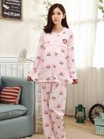 ชุดนอนเปิดให้นม ผ้ายืดเนื้อนิ่ม มีช่องสำหรับให้นม สะดวกมากๆค่ะใส่ตั้งแต่ท้อง ถึง หลังคลอดได้เลยค่ะ