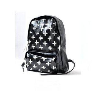 กระเป๋าเป้แฟชั่น Unihouse ทูโทน ดำ - ขาว