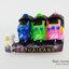 ของที่ระลึกไทย แม่เหล็กติดตู้เย็น ลวดลายรถตุ๊กๆ 3คัน วัสดุเรซิ่น ปั้มลายนูน ลงสีสวยงาม thumbnail 1