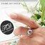 แหวนเพชร แหวนSweetheath สีทองคำขาว thumbnail 5