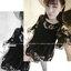 เสื้อลูกไม้ตัวยาวสไตล์สาวเกาหลี สาวๆสามารถนำไปแมทซ์ ได้กับกางเกงตัวโปรด สวมใส่สะบาย thumbnail 3