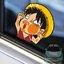 สติ๊กเกอร์ติดรถยนต์ One Piece 11x11 CM thumbnail 1