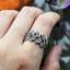 แหวนใบมะกอกนำโชค แหวนเงินแท้ประดับมาร์คาไซท์ thumbnail 2