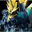 P-Bandai Online Hobby Shop Exclusive MG RX-0[N] Unicorn Gundam Banshee Norn (Green Psycho Frame)6000y thumbnail 1