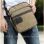 กระเป๋าแฟชั่นผู้ชาย ใบเล็ก MMG สีกากี ผ้าแคนวาส ทนทานใช้นาน Classic Design เรียบเท่