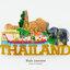 ของที่ระลึกไทย แม่เหล็กติดตู้เย็น ลวดลายเอกลักษณ์ไทย thumbnail 1