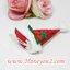 กิ๊บแฟนซี หมวกปีใหม่สีแดง เล็ก thumbnail 2