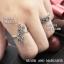 แหวนใบมะกอกนำโชค แหวนเงินแท้ประดับมาร์คาไซท์ thumbnail 3