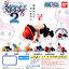 Gashapon: One Piece Negative Strap Set2 thumbnail 1
