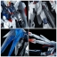 P-bandai: MG Freedom Gundam Ver2.0 Full Burst Mode Special Coating Color 10800 yen thumbnail 8