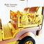 ของที่ระลึกไทย รถตุ๊กตุ๊กจำลอง สีทอง ไซส์ใหญ่ (L) สินค้าบรรจุในกล่องมาให้เรียบร้อย สินค้าพร้อมส่ง thumbnail 5