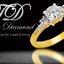 แหวนเพชร The Wedding สีทอง thumbnail 9