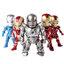 โมเดลไอรอนแมน Ironman 3(ชุดที่ 6) ในชุดมี 5 ตัว/ชุด