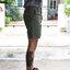 กางเกงขาสั้น สีเขียวทหาร thumbnail 2