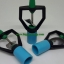 หัวสปริงเกลอร์ใบพัดสแตนเลสชนิดสวมท่อ PVC 4หุน thumbnail 1