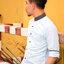 เสื้อเชิ้ตผู้ชาย รุ่น คอจีนสีฟ้าปกสีน้ำเงิน thumbnail 5
