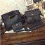 Set 4 ใบ-กระเป๋าสะพายหนังทรงสวย สีดำ thumbnail 3