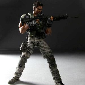 Play Arts Kai - Resident Evil 5 - CHRIS REDFIELD