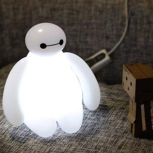USB BayMax มีไฟ LED สีขาว(Big Hero)
