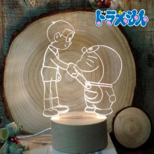 โคมไฟ DIY LED Dora A Dream (โดเรม่อน)