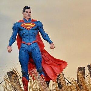 Jae Lee First Generation Superman Figure (ของแท้ลิขสิทธิ์)
