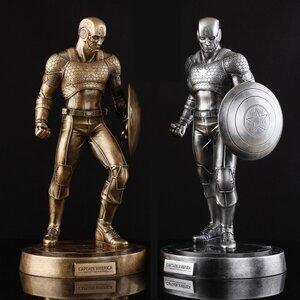 Avengers Alliance Captain America Model Statue (มีให้เลือก 2 สี)