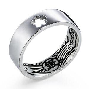 แหวนเงินกินทามะ ซากุระ Gintama (เงินแท้ 92.5%) **ของแท้**