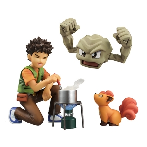 G.E.M. Pocket Monsters Ishitsubute, Rokon, Takeshi (ของแท้ลิขสิทธิ์)