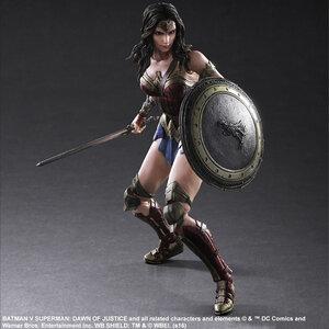 Play Arts Kai DC Universe Wonder Woman Action Figure