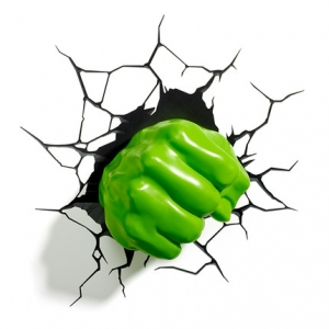 โคมไฟติดผนัง 3D ฮัคก์ HLUK(ของแท้ลิขสิทธิ์)