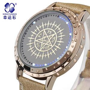 นาฬิกา LED จอสัมผัส Kuroshitsuji สีทอง (ของแท้)