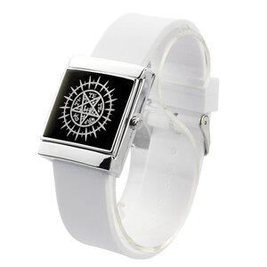 นาฬิกาข้อมือ LED Kuroshitsuji(สีขาว)