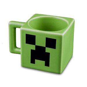 Jinx Minecraft Creeper Face Ceramic Coffee Craft Mug Cup