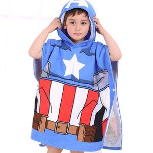 ผ้าคลุมอาบน้ำ Captain America (สำหรับเด็ก)