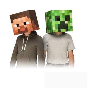 หน้ากาก Minecraft (มีให้เลือก 13 แบบ)