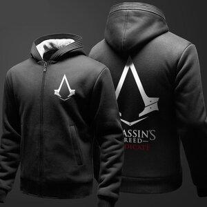 เสื้อฮู้ดกันหนาวขนแกะ Assassin Creed 2016 (รุ่นผ้าหนา)