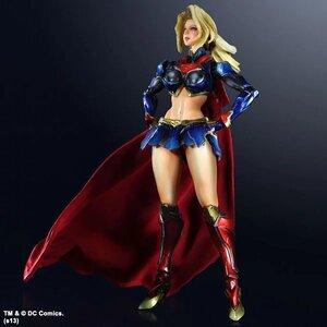 DC Comics - Variant Superman - Supergirl Play Arts Kai