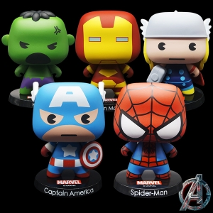 โมเดล The Avengers หัวโต (มีให้เลือก 5 แบบ)